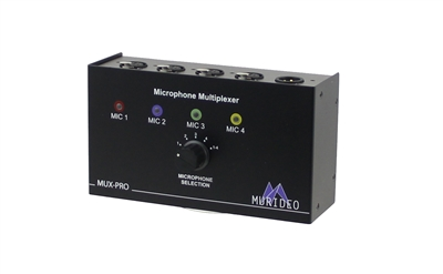 murideo mux pro microphone multiplexer. Black Bedroom Furniture Sets. Home Design Ideas